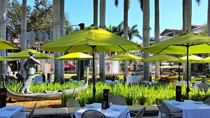 Shopping Village of Merrick Park em Coral Gables: restaurante Sawa