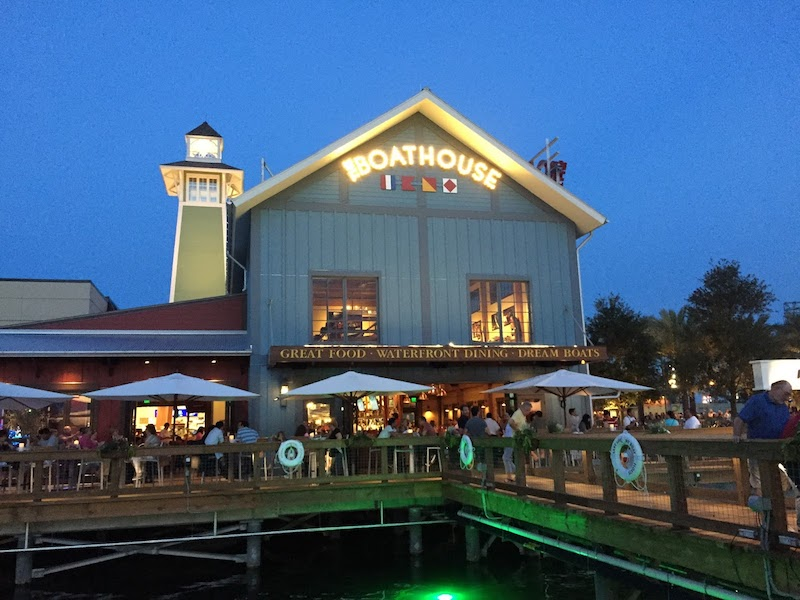 Disney Orlando para adolescentes: restaurante The BoatHouse na Disney Springs