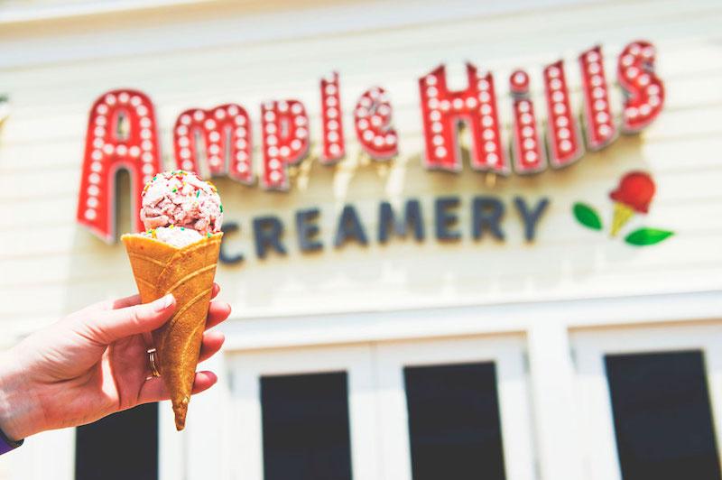 Sorveteria Ample Hills Creamery na Disney Orlando