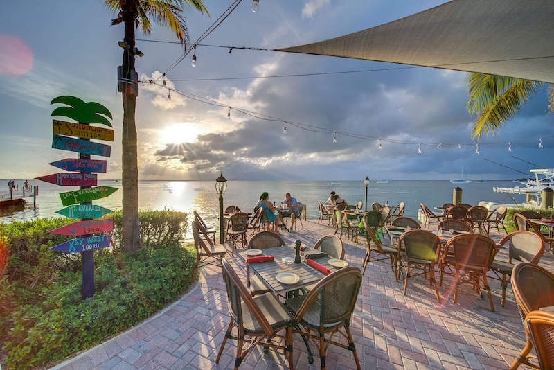 7 restaurantes em Florida Keys: restaurante Sundowners