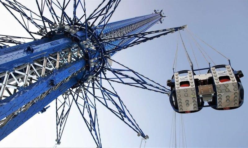 Orlando Gyro Drop Tower no ICON Park: StarFlyer
