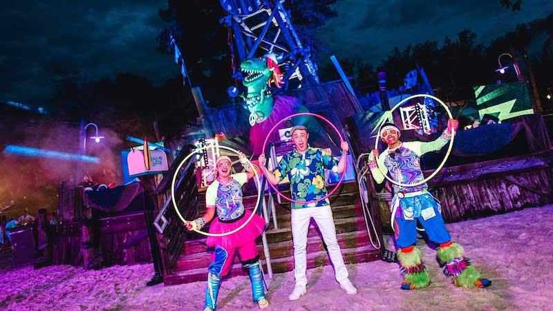 Parque Typhoon Lagoon da Disney Orlando: H2O Glow Nights