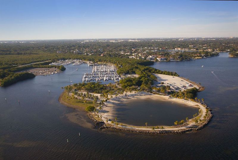 Matheson Hammock Park em Coral Gables: área do parque