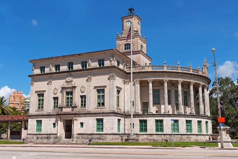 Coral Gables City Hall na Flórida: edifício
