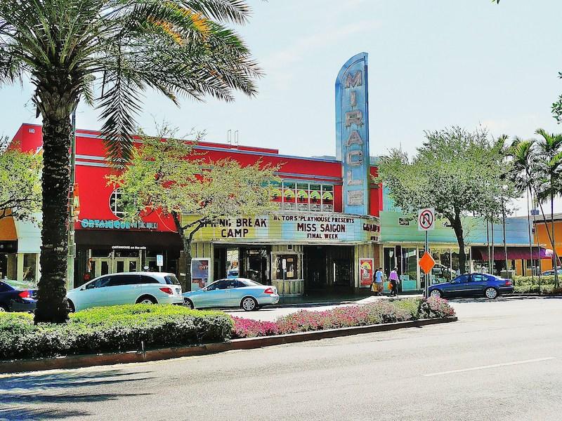Miracle Theatre em Coral Gables: fachada