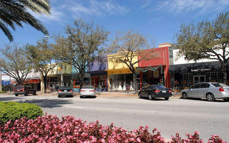 Compras em Coral Gables: lojas na Miracle Mile