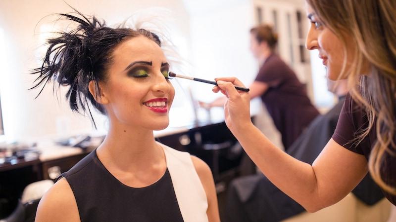 Character Couture na Disney Orlando: maquiagem