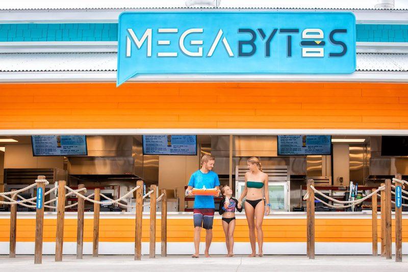 Parque aquático Island H2O Live em Orlando: Megabytes