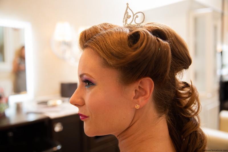 Character Couture na Disney Orlando: penteado