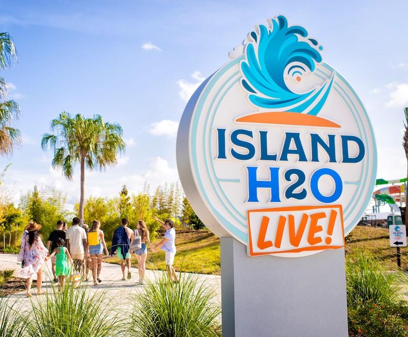 Parque aquático Island H2O Live! em Orlando