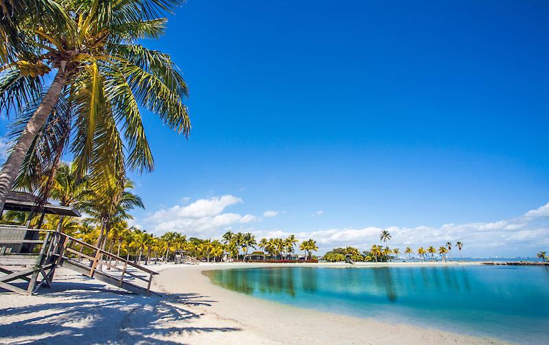 Matheson Hammock Park em Coral Gables: praia