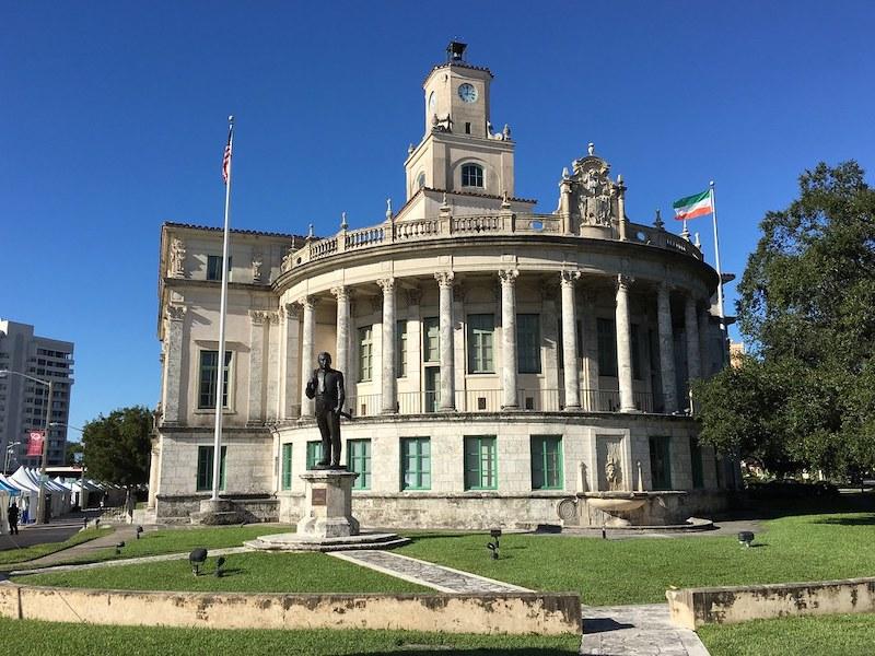 Coral Gables City Hall na Flórida: prefeitura de Coral Gables