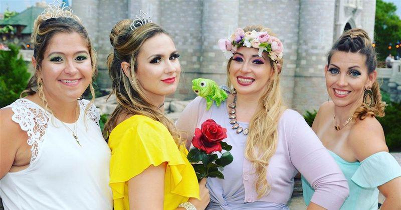 Character Couture na Disney Orlando: princesas