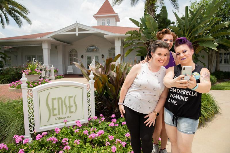 Character Couture na Disney Orlando: salão Senses