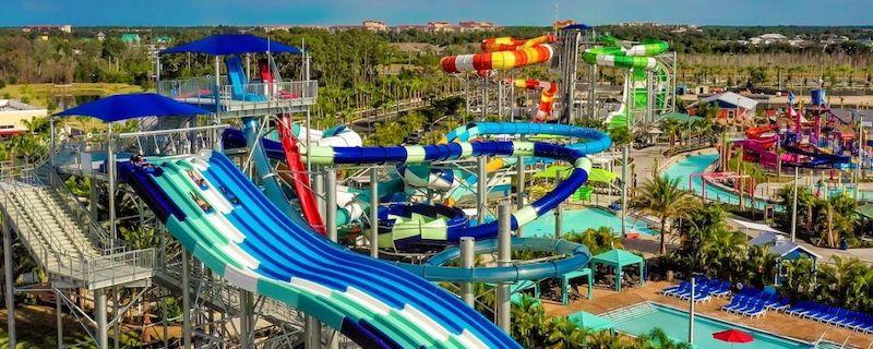 Parque aquático Island H2O Live! em Orlando: atrações
