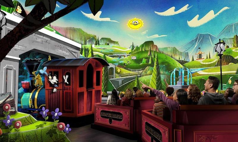 Novidades na Disney Orlando em 2020: Mickey & Minnie's Runaway Railway
