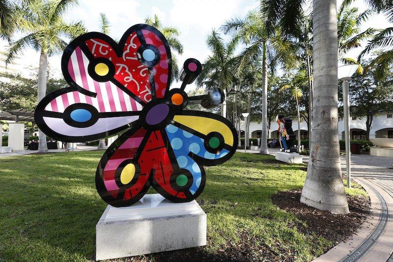 Galeria do Romero Britto em Miami: arte de Romero Britto