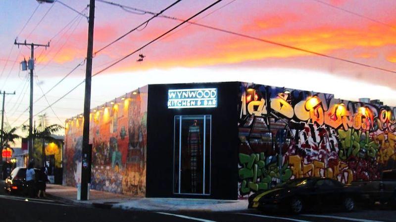Restaurante Wynwood Kitchen & Bar em Miami: entrada