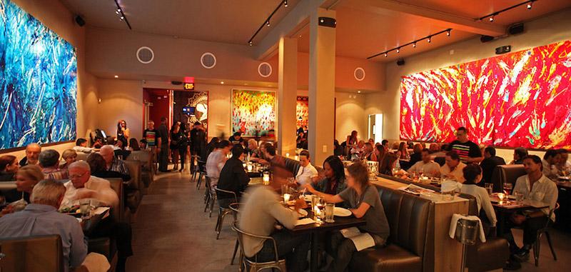 Restaurante Wynwood Kitchen & Bar em Miami: interior