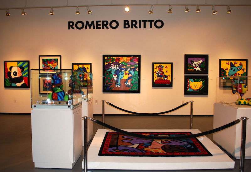 Galeria do Romero Britto em Miami