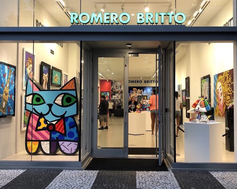 Galeria do Romero Britto em Miami: Romero Britto Fine Art Gallery