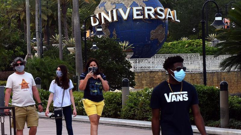 Reabertura dos parques em Orlando: Universal