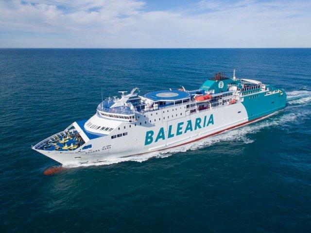 Ferry Boat Balearia Caribbean em Fort Lauderdale