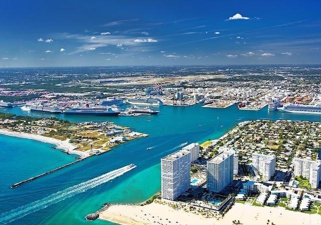 Port Everglades em Fort Lauderdale