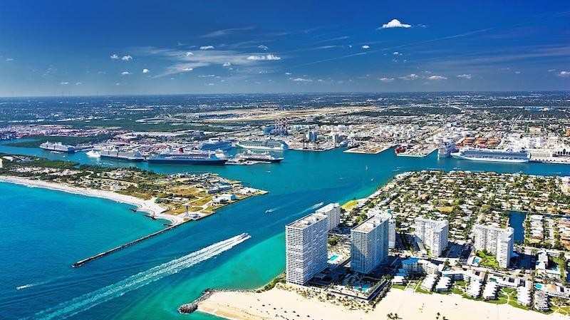 Port Everglades em Fort Lauderdale