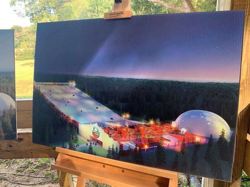 Parque Snowcat Ridge na Flórida: apresentação da área do parque