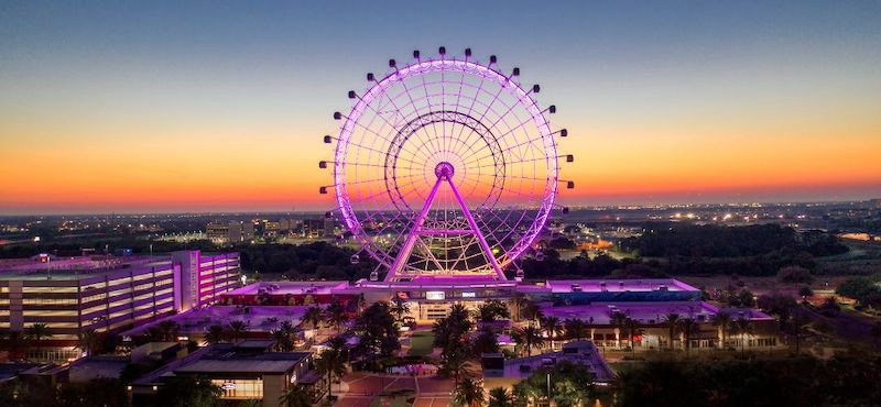 Roda-gigante The Wheel em Orlando