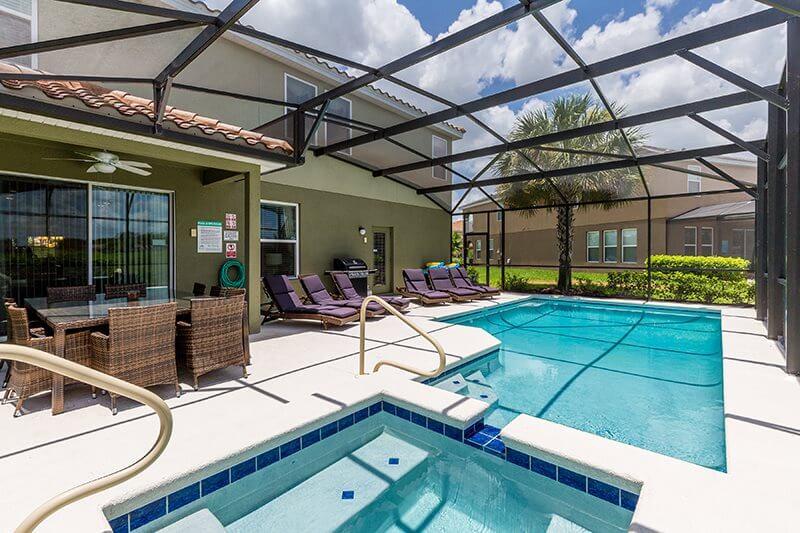 Casa do condomínio Solterra em Orlando