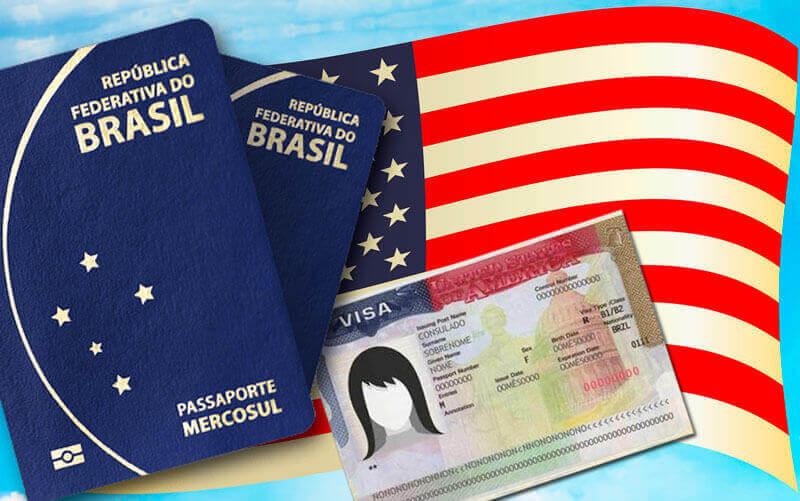 Visto americano e passaportes