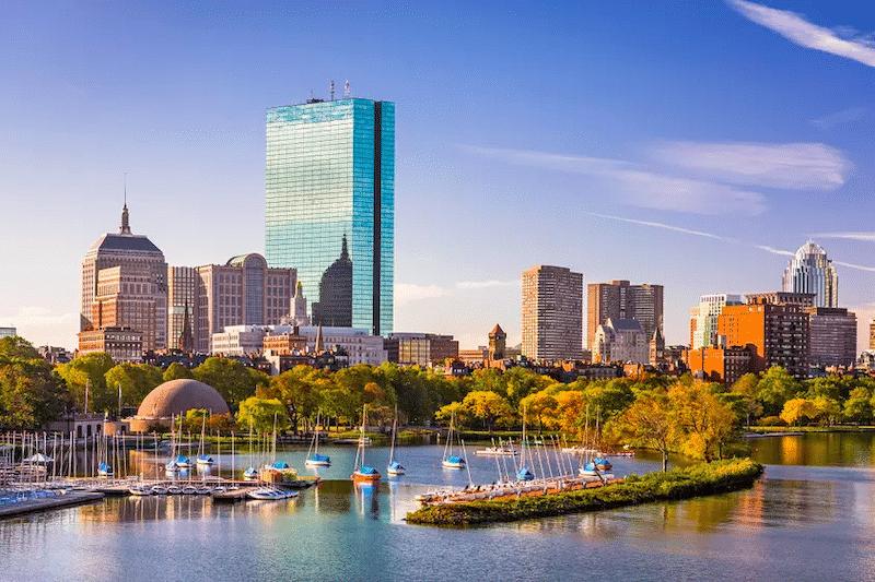 Paisagem de Boston