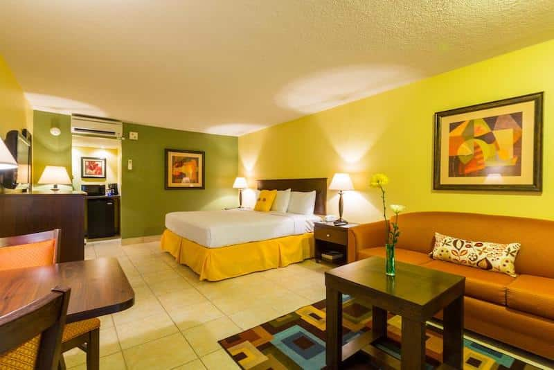 Quarto do Champions World Resort em Orlando