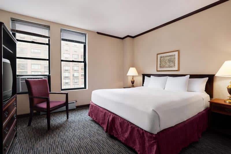 Quarto do hotel Days Inn by Wyndham Hotel em Nova York
