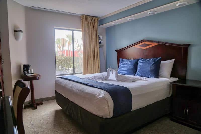 Quarto do Destiny Palms Hotel em Orlando