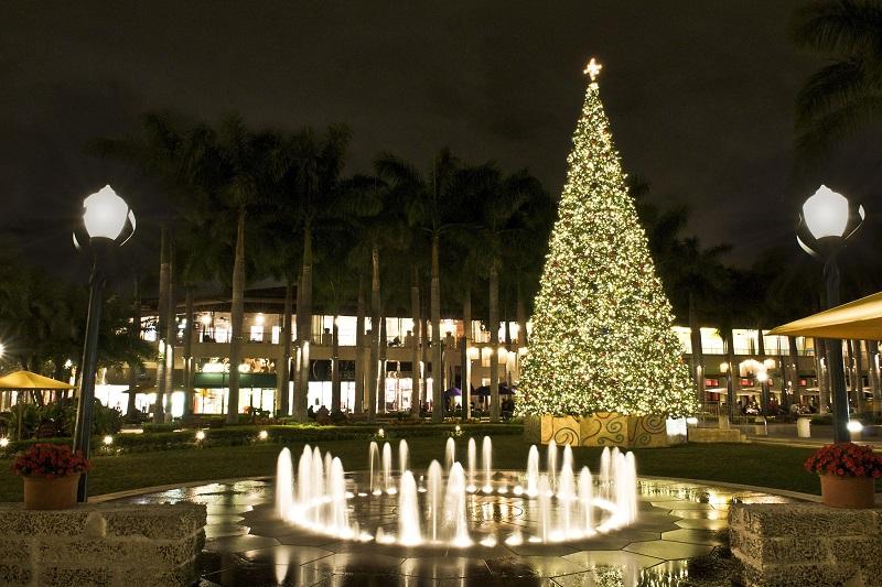 Árvore de Natal em Miami