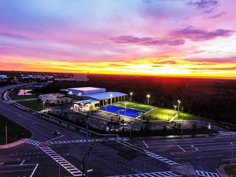 Área da Ronaldo Academy em Orlando