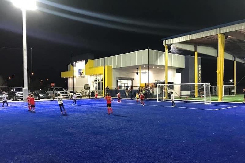 Aula de futebol na Ronaldo Academy em Orlando