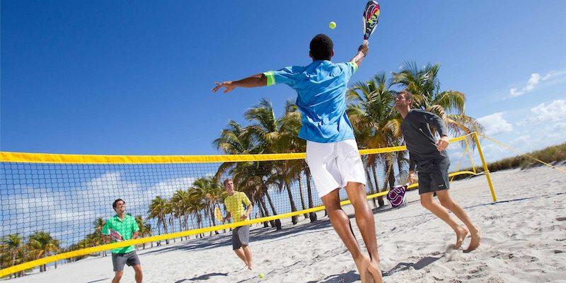 Beach tennis em Orlando