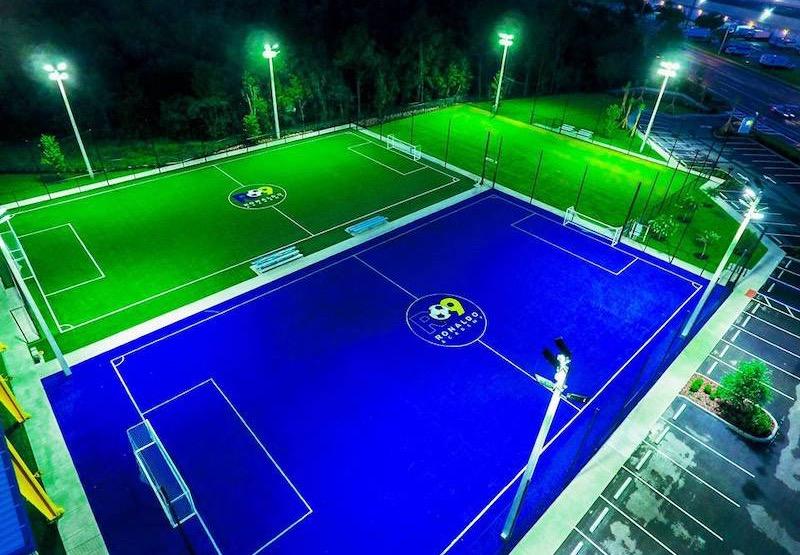 Campos de futebol da Ronaldo Academy em Orlando