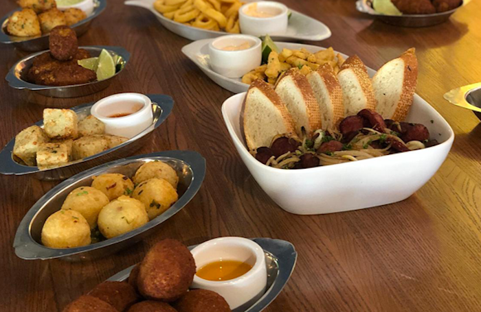 Comidas do restaurante e bar À Brasileira em Orlando