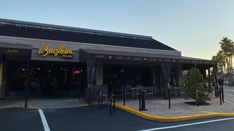 Restaurante e bar À Brasileira em Orlando