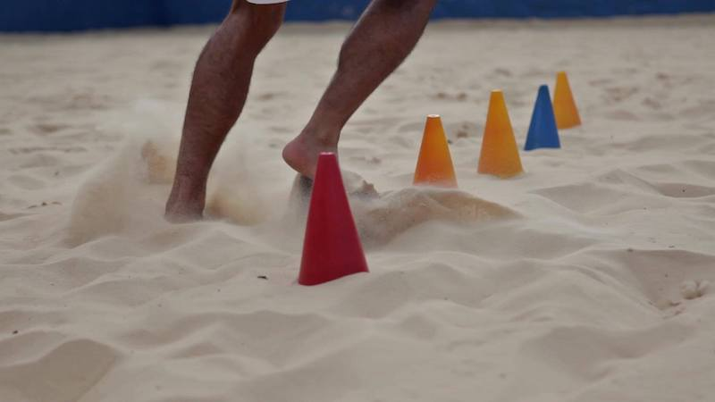 Treino de esportes de praia em Orlando