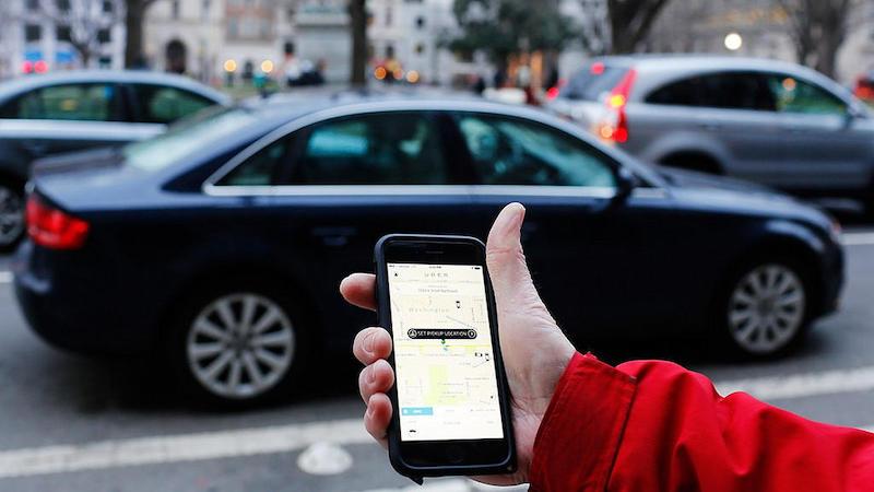 Aguardando Uber em Miami