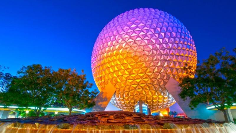 Awesome Planet no parque Epcot da Disney Orlando