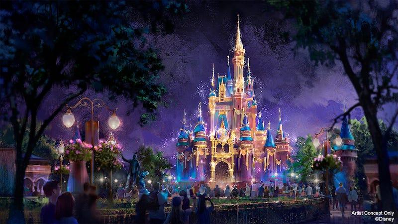 Celebração do aniversário da Disney em Orlando