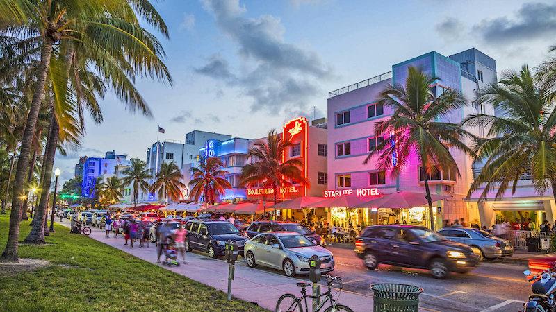 Trânsito em Miami