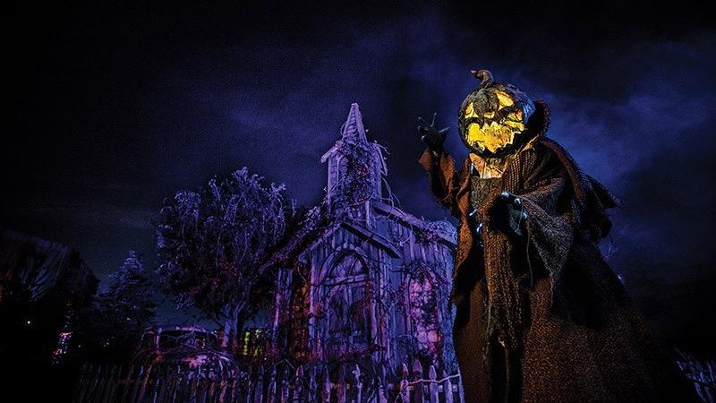 Halloween na Universal Orlando em 2021